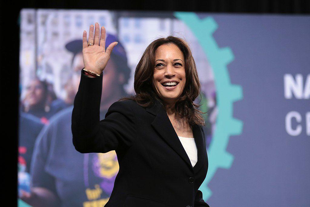 La sénatrice américaine Kamala Harris en 2019