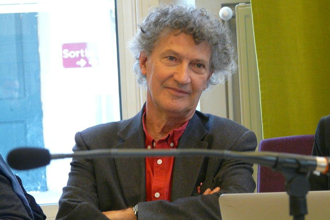 Olivier Abel à l'Institut protestant de théologie (IPT) Paris, le 15 avril 2019.