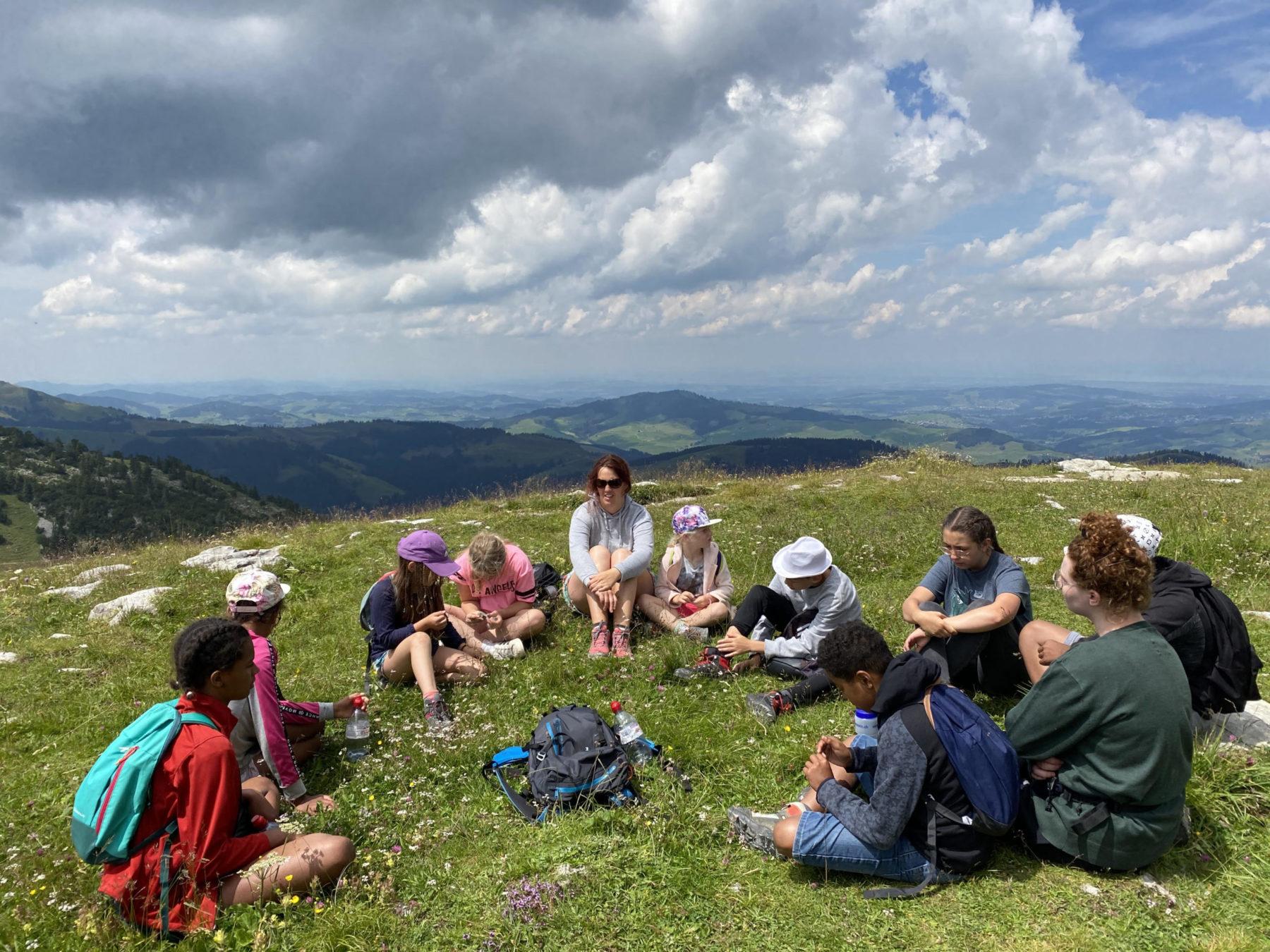Sortie en montagne des Petites Familles du Jura bernois
