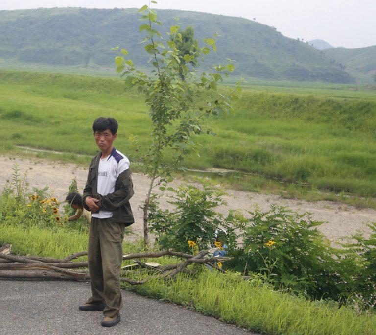 Image symbole - travailleur en Corée du Nord