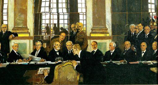 Signature du Traité de Versailles - 28 juin 1919