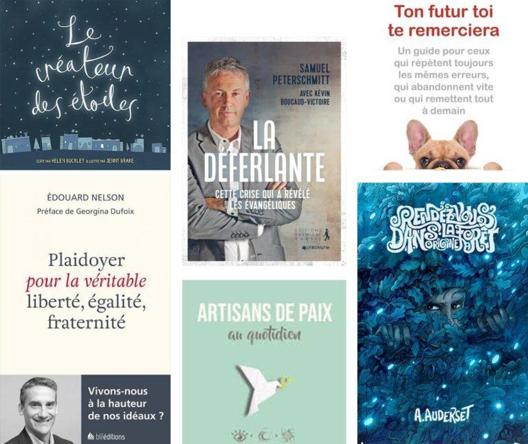 Sélection livres Christianisme Aujourd'hui - Janvier 2021
