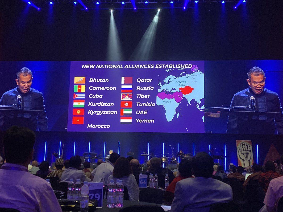 Assemblée générale de l'AEM en Indonésie en novembre 2019