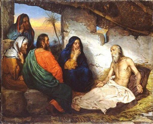 Job et ses amis de Gillot Saint-Evre -1814