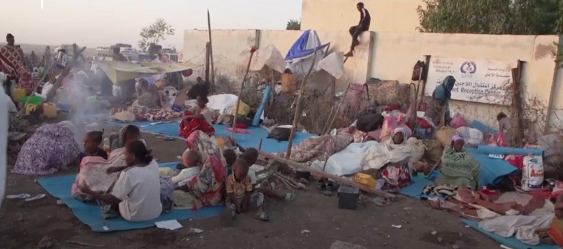 Camp de réfugiés en Ethiopie