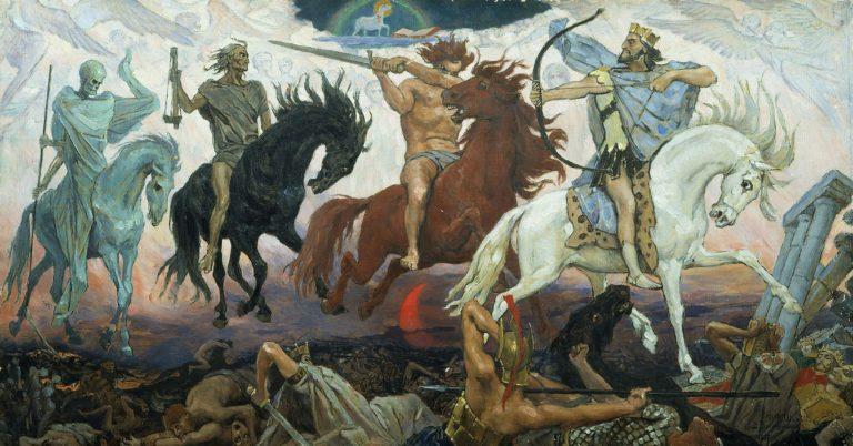 Les Quatre Cavaliers de l'Apocalypse 1887 Viktor Vasnetsov