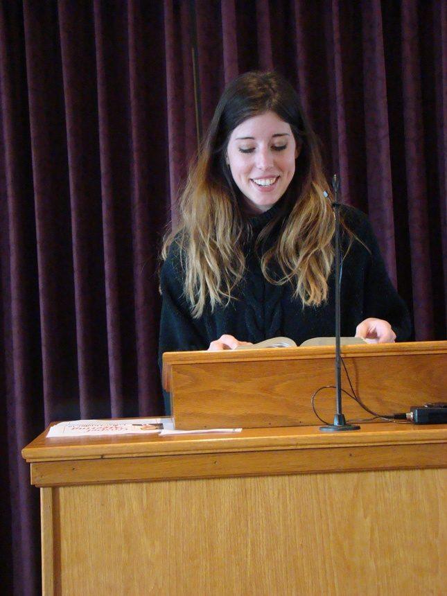 Femme pasteure