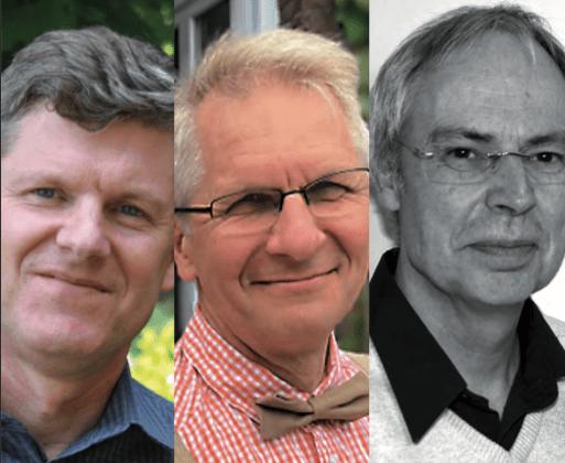 Michel Varton, Philip Kapitaniuk et Christian Bussy