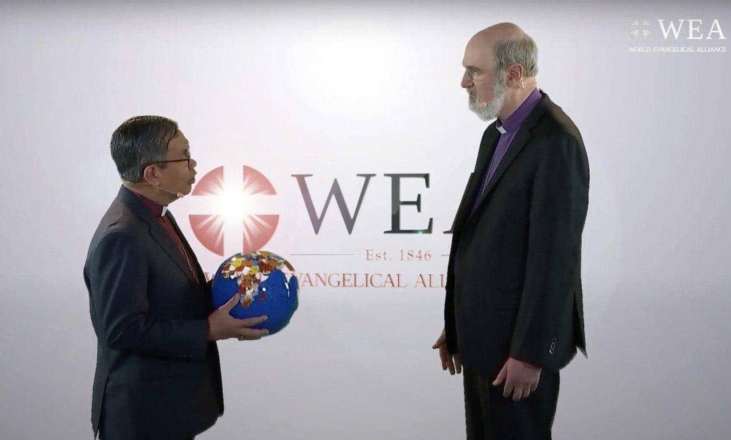 Passation entre Efraïm Tendero et Thomas Schirrmacher à la tête de l'Alliance évangélique mondiale