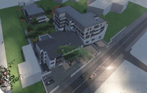 Plan des futurs locaux des Cèdres.