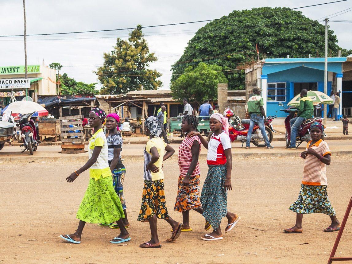 Scène de rue au Bénin