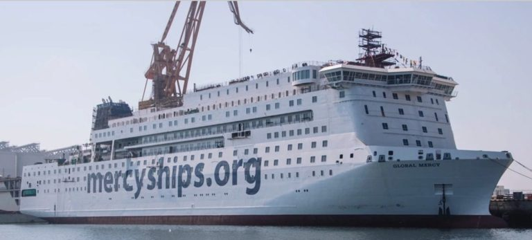 La navire Global Mercy de Mercyships