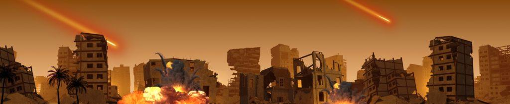 Image d'illustration d'un raid israélien à Gaza