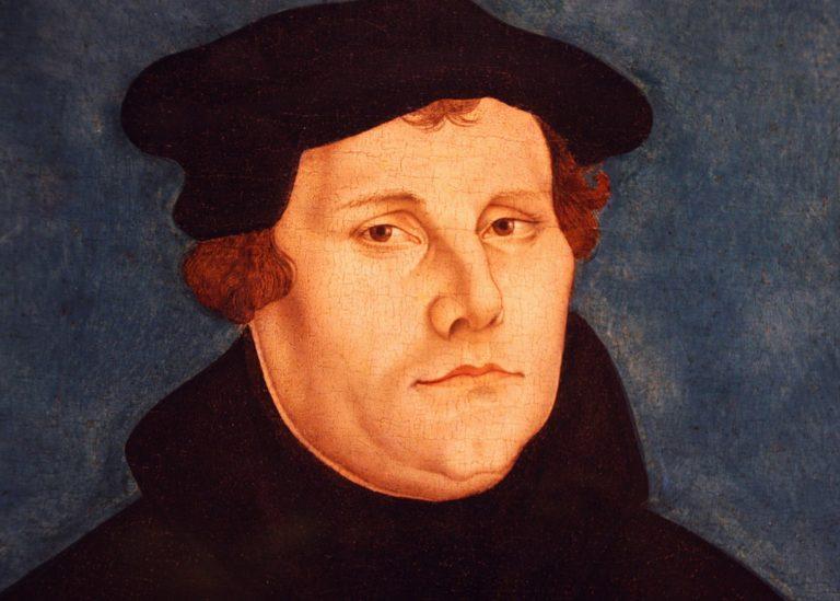 Martin Luther par Lucas Cranach l'Ancien