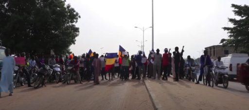 Une manifestation à N'Djamena pour dénoncer le Conseil militaire de transition