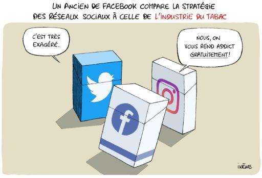 Un ancien de Facebook compare la stratégie des réseaux sociaux à celle de l'industrie du tabac